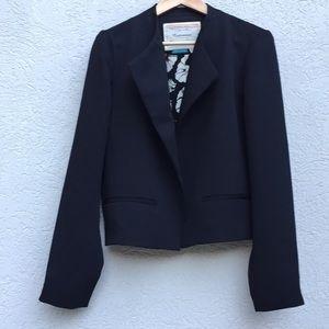 Cartonnier blazer size 10 black open front